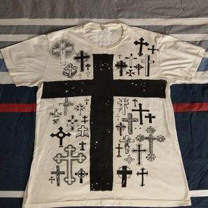 All Saints Crosses T-shirt